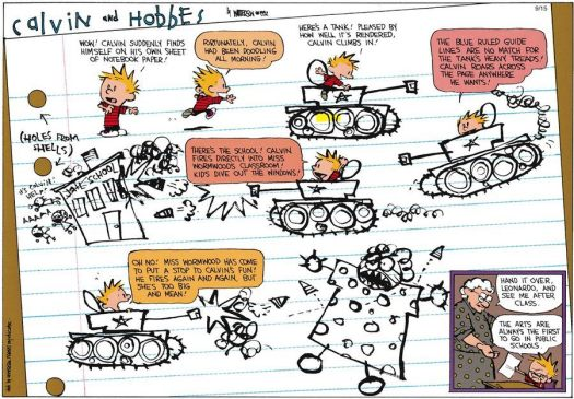 Calvin and Hobbes Education