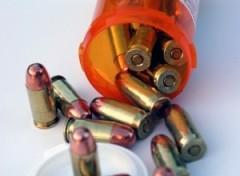 bullets-in-medicine-bottle