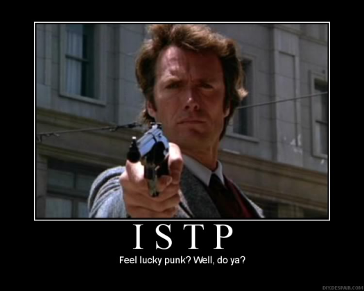 Clint Eastwood - ISTP