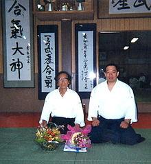 Seiseki_Abe_&_Ryoichi_Kinoshita,_Amenotakemusu_Juku_Dojo