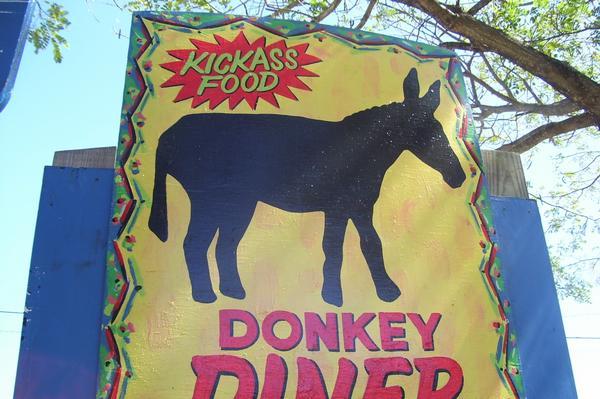Kick ass food! Donkey Dinner