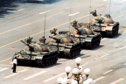tiananmen square stand  up for your rights