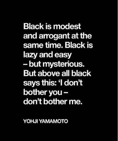 yohji yamamoto_the color black