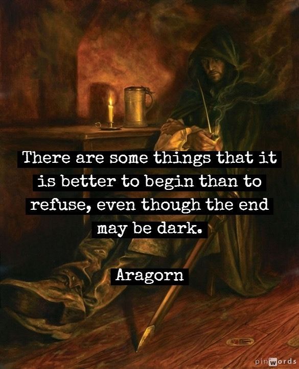 Lord Of The Rings Frodo End Quote