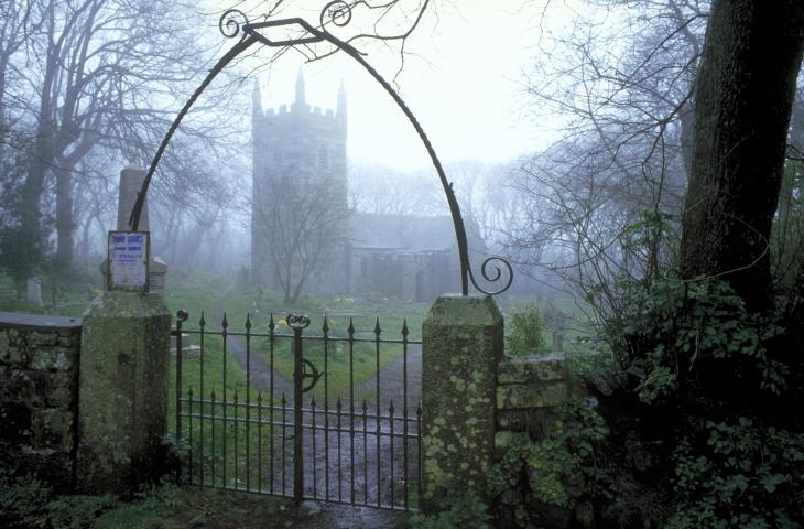 Church, LANDEWEDNACK, Cornwall, England.